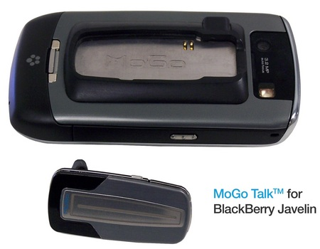 MoGo Talk Bluetooth Headset for BlackBerry Javeline
