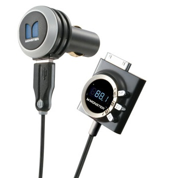 Monster iCarPlay Wireless 1000 FM Transmitter for iPod and iPhone 1