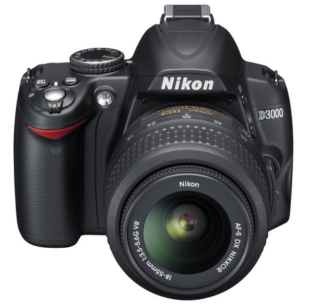 Nikon D3000 Entry-Level DSLR Camera front
