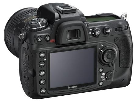 Nikon D300s DSLR angle back