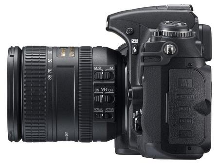 Nikon D300s DSLR left