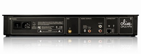Olive Opus No.4 2TB Music Server back