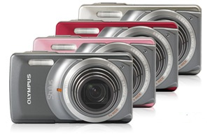 Olympus Stylus-7010 Camera with 7X Wide-angle Zoom lens colors