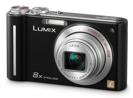 Panasonic Lumix DMC-ZR1 Slim Camera black