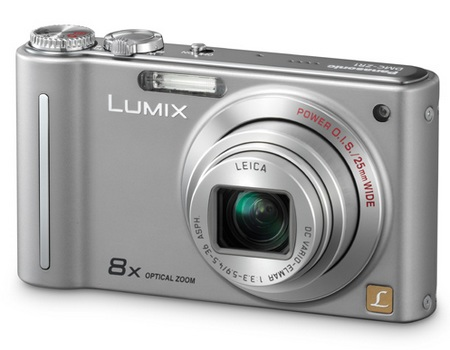 Panasonic Lumix DMC-ZR1 Slim Camera silver