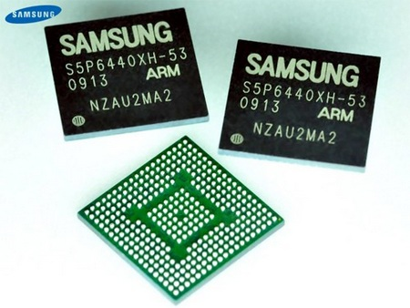 Samsung Hummingbird 1GHz Cortex-A8 Processor