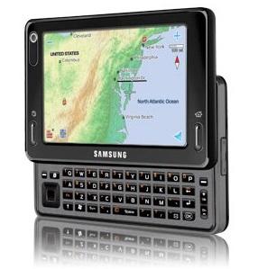 Samsung Mondi WiMAX MID angle