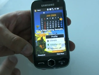 Samsung Omnia II i8000 Video Preview