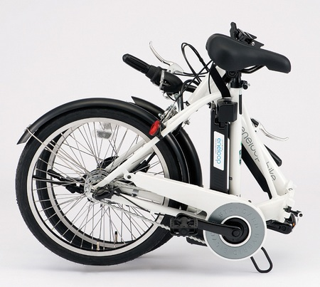 Sanyo eneloop bike CY-SPJ220 electric hybrid bike folded