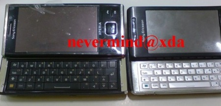 Sony Ericsson XPERIA X2 and X1