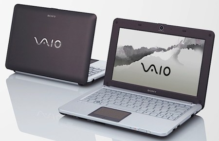 Sony VAIO W Series Mini Notebook cocoa brown