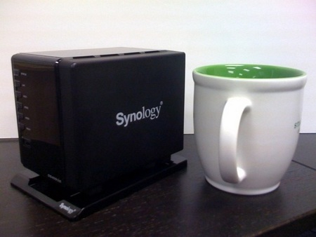 Synology DS409Slim Compact 4-Bay NAS