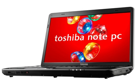 Toshiba dynabook TV Notebook with TV Tuner