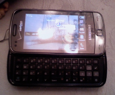 Verizon Samsung Glyde 2 U960 QWERTY Phone 1