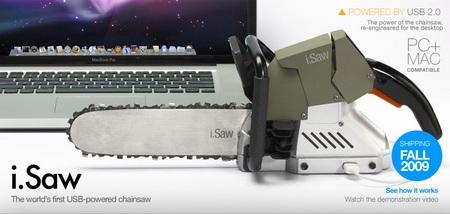 i.Saw USB-powered Chainsaw