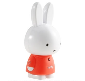Adtec MIF-P2G Miffy MP3 Player front