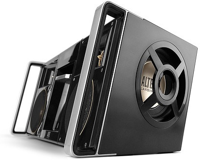 Altec Lansing MIX iMT800 Boombox side 1