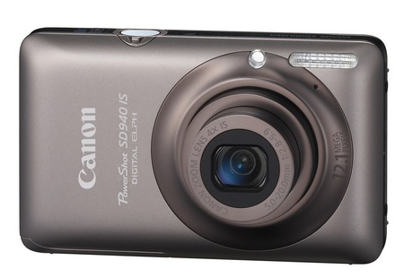 Canon PowerShot SD940 IS Digital ELPH Camera brown