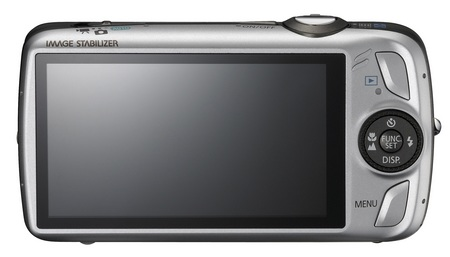 Canon PowerShot SD980 IS Digital ELPH Camera back