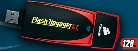 Corsair 128GB Flash Voyager GT Flash Drive