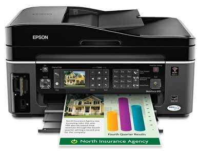 Epson WorkForce 610 WiFi-enabled All-in-One Printer