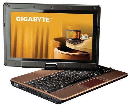Gigabyte T1028X TouchNote