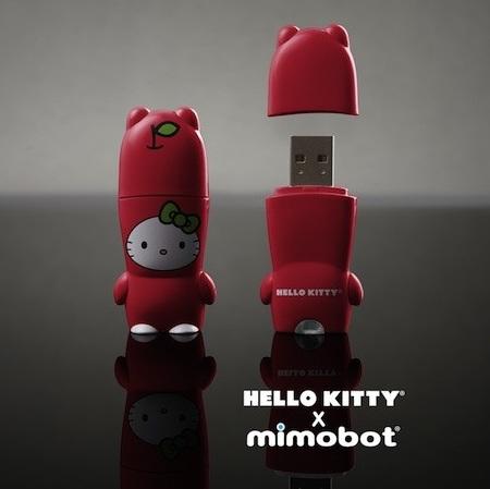 Hello Kitty X MIMOBOT USB Flash Drive