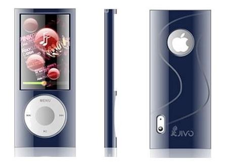 JIVO TPA Case Blue for iPod nano 5g