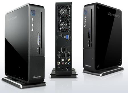 Lenovo IdeaCenter Q700 home entertainment PC back