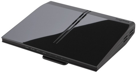 Logitec LAN-W300N-R Slim Wireless Router