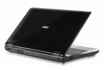 MSI Bravo EX628 Multimedia Notebook