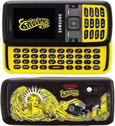 MetroPCS Samsung Messager Mister Cartoon Limited Edition