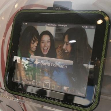 Modu 2 gets Touchscreen