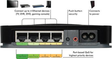 Netgear XAVB1004 Home Theater Internet Connection Kit XAV1004 ethernet switch