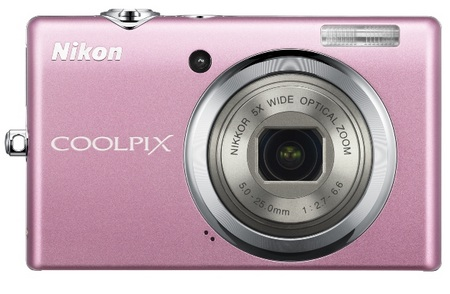 Nikon CoolPix S570 Digital Camera pink