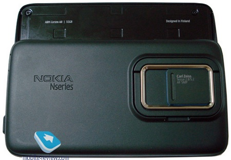 Nokia RX-51-N900 Maemo 5 Tablet Previewed back