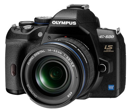 Olympus E-600 Entry-Level DSLR front