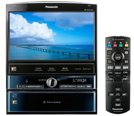Panasonic Strada CN-HX3000D Multimedia Navigator
