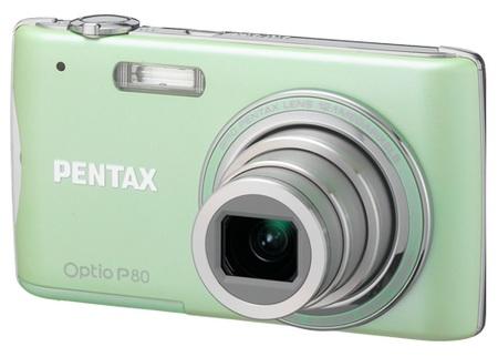 Pentax Optio P80 digital camera mint