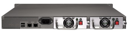 QNAP TS-439U-RP and TS-439U-SP Turbo NAS 1U Servers back