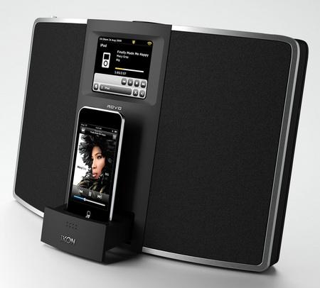 Revo IKON Digital Radio iPod iPhone dock with ipod touch