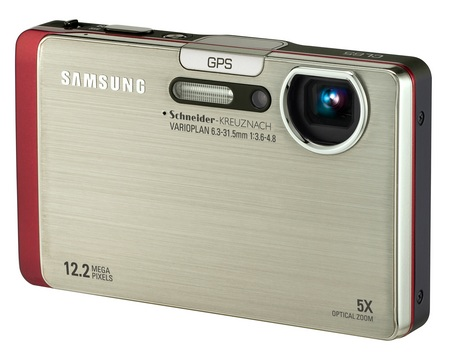 Samsung CL65 Compact Digicam with GPS, Bluetooth and WiFi silver