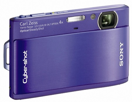 Sony Cyber-shot DSC-TX1 Slimline Digital Camera purple