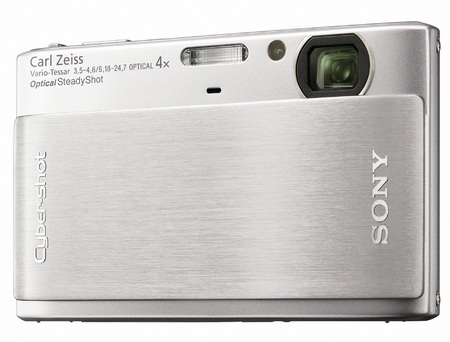 Sony Cyber-shot DSC-TX1 Slimline Digital Camera silver