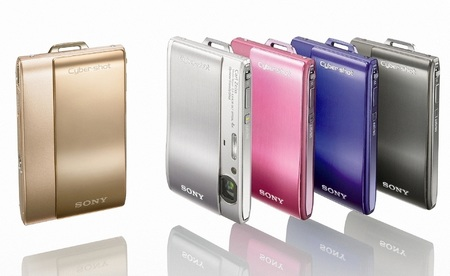 Sony Cyber-shot DSC-TX1 Slimline Digital Camera