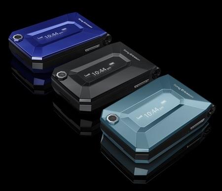 Sony Ericsson Jalou clamshell phone 1