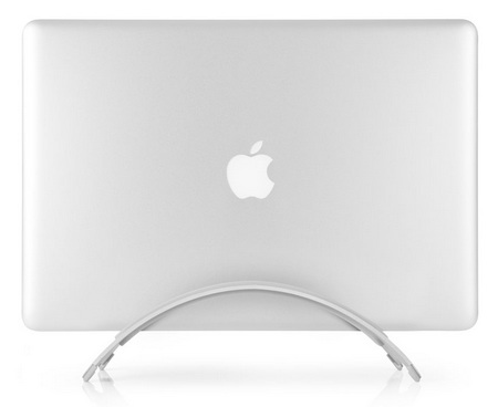 TwelveSouth BookArc MacBook Desktop Stand side