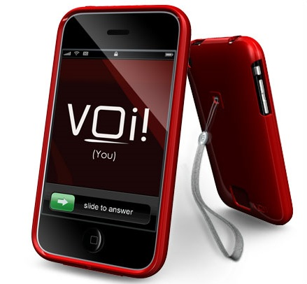 VOi! Lorem Hard-Shell Case for iPhone3G 3GS Fireside