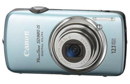 canon PowerShot SD980 IS Digital ELPH Camera blue