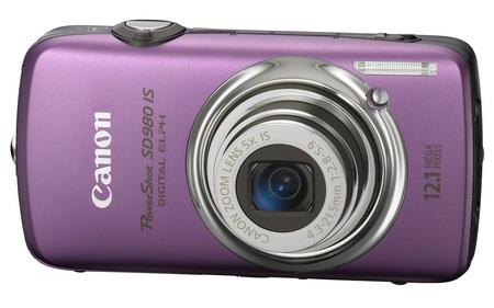 canon PowerShot SD980 IS Digital ELPH Camera purple